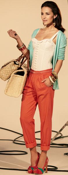 pantalones mujer primavera verano 2012
