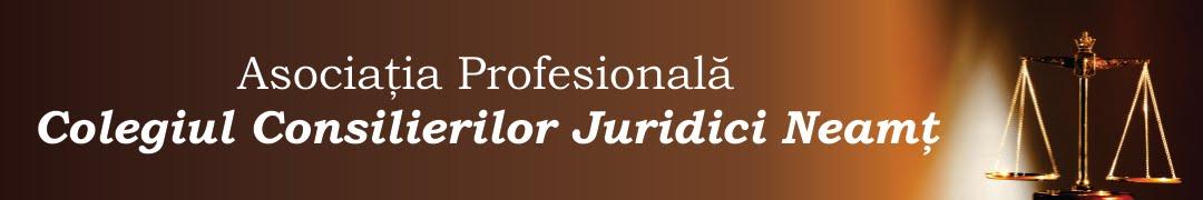 Colegiul Consilierilor Juridici Neamt
