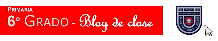 6° Grado - Blog de clase