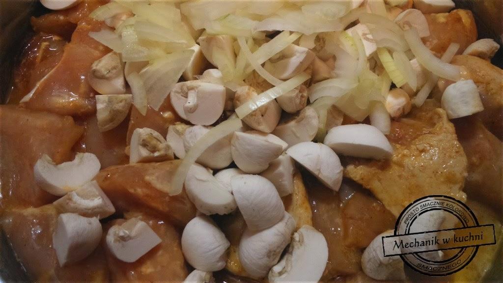 Frykas drobiowy filet z kurczaka mechanik w kuchni blogger z Pszczyny