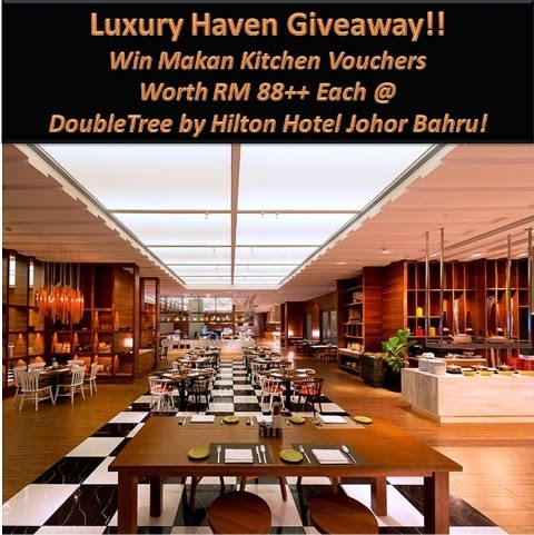 doubletree by hilton johor bahru makan kitchen giveaways