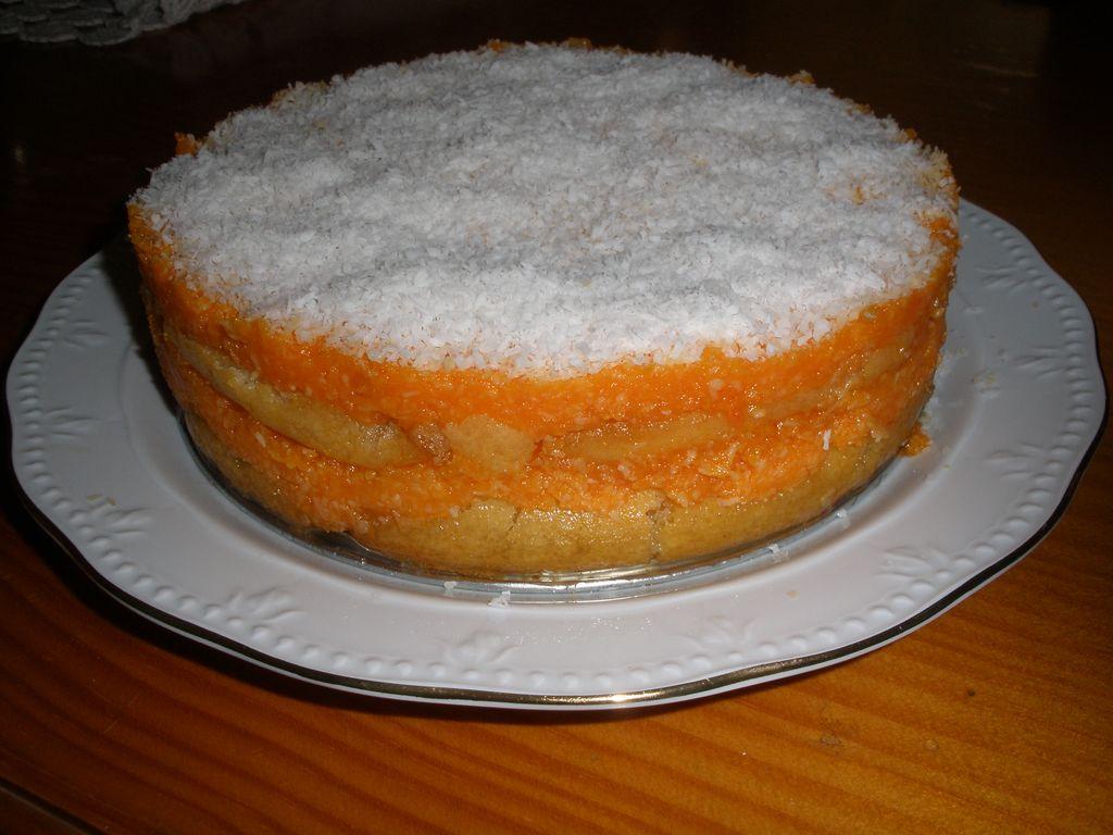 Tarta De Zanahoria Y Coco (con La Thermomix)