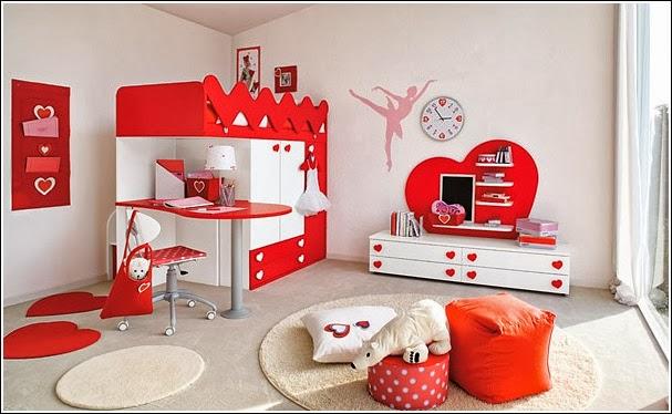 Deco chambre interieur d coration chambre d 39 enfant avec for Chambre a coucher pour petite fille