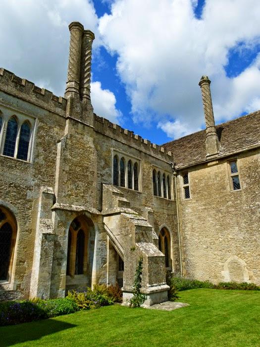 Chimneys, Lacock abbey