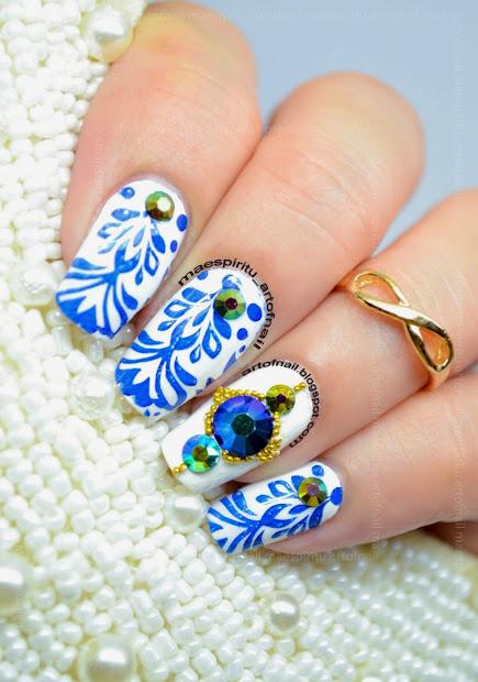art of nail elegant chandelier
