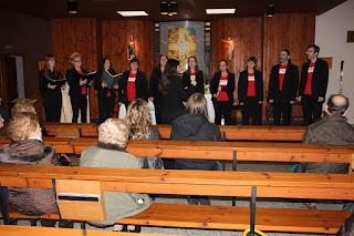 Concierto de KantArte Gazteder en la iglesia de Lutxana