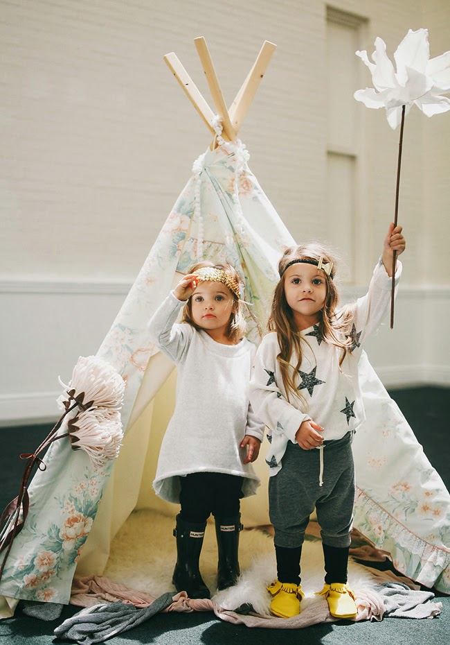 Organic, handmade kids clothes by Kindred OAK for AW14 collection