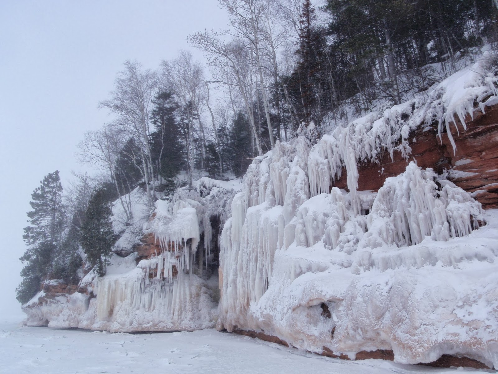 Apostle Islands National Lakeshore Ice