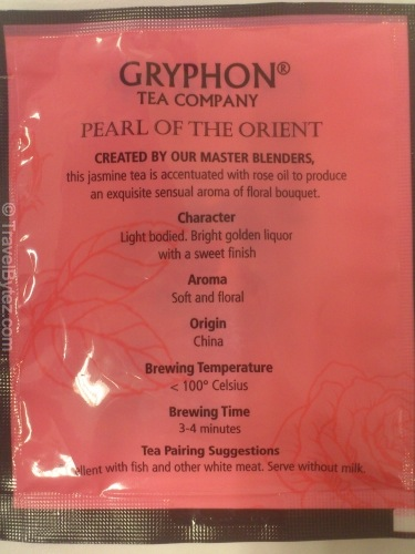 Pearl of the Orient (Gryphon Tea Company)