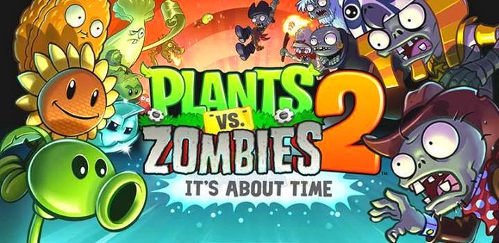 Download Plants vs Zombie 2 Android APK + Data MOD English Full Version 2014