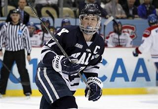 ECAC: Oilers Sign Yale Captain