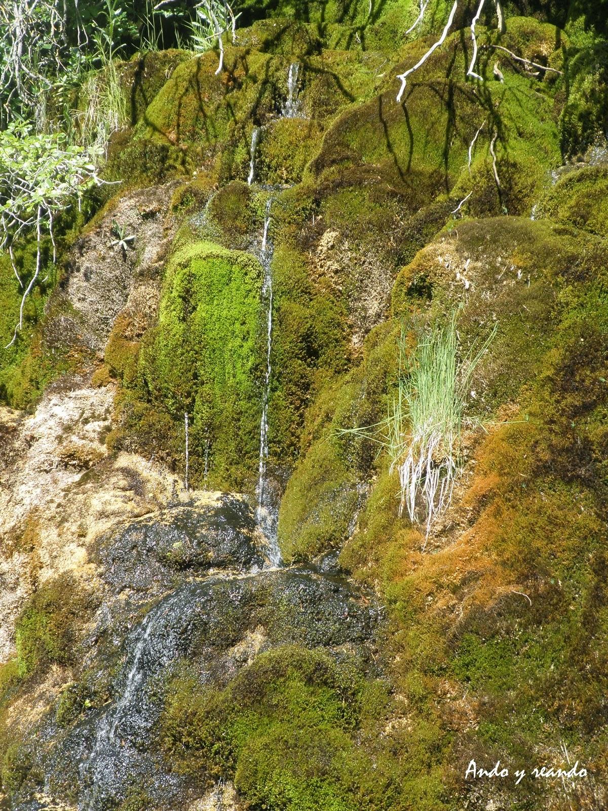 Serranía de Cuenca. Cascada