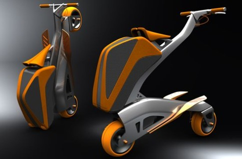 Zoomla Bike Folds Into A Backpack