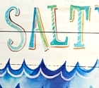 sea art with saying