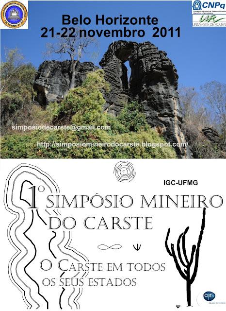 1° Simpósio Mineiro do Carste