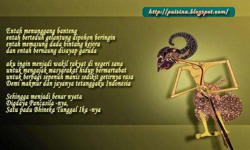Puisi Arjuna Linglung Untuk Kursi Dewan Indonesia