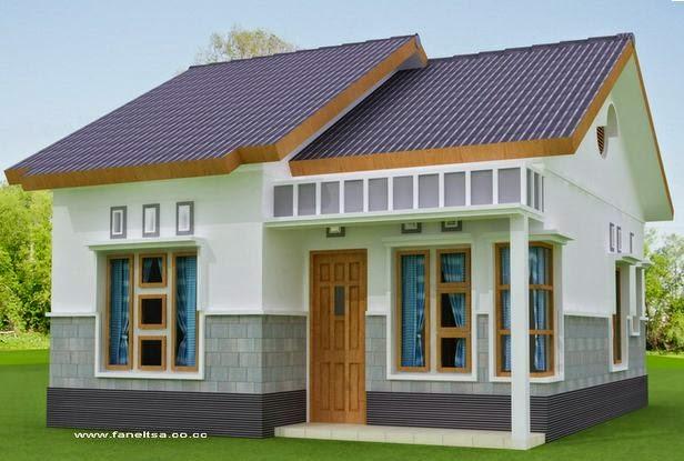 Contoh desain rumah sederhana 6x12 & Desain Rumah Sederhana 6x12 | Desain Rumah Minimalis Modern Type