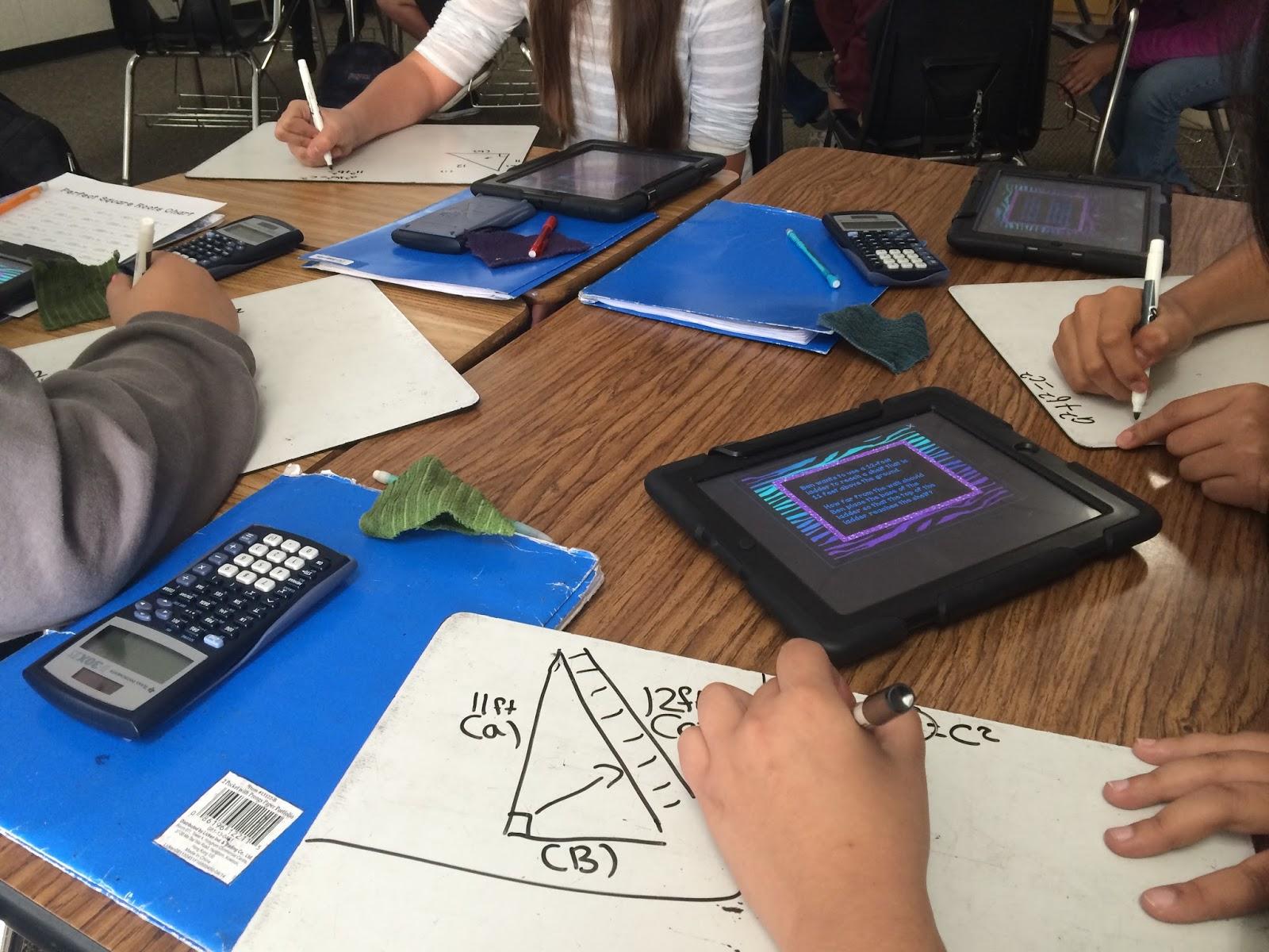 Collaborative Math Classroom ~ Rockstar math teacher ★ using socrative with