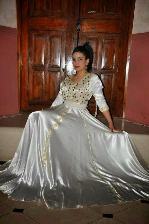 caftan mariage marocain