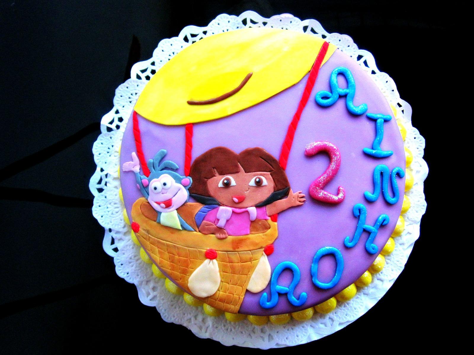 Experimentando en la cocina y algunas cosas mas tarta de dora la exploradora - Dora la exploradora cocina ...