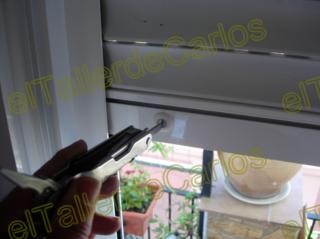 Eltallerdecarlos reparaci n y mantenimiento de persiana - Colocar cinta persiana ...