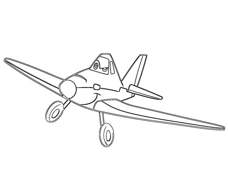 Disney Planes Coloring Pages : Dusty planes coloring pages
