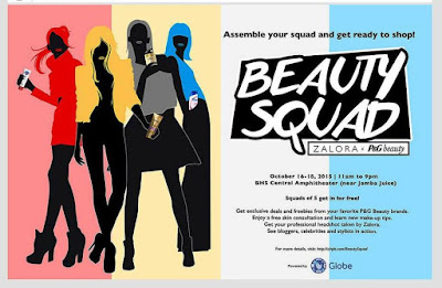 BEAUTY SQUAD : Assemble your squad and get ready to shop!