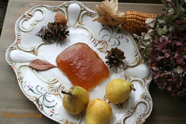 dulce de pera,mermelada de pera