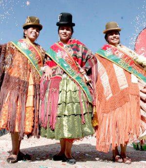 Mujeres de Bolivia