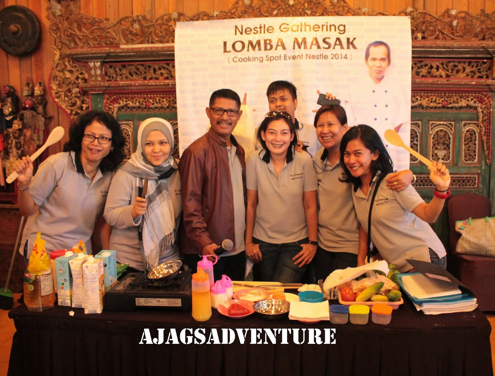 Outbound di Jadul Village - Cooking Competition