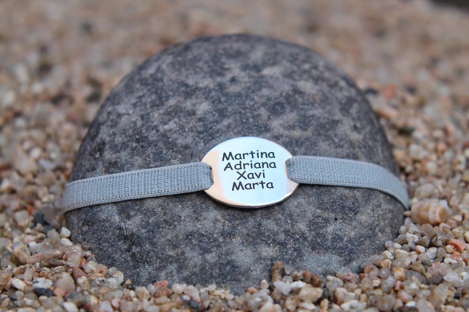 Preciosas pulseras personalizadas