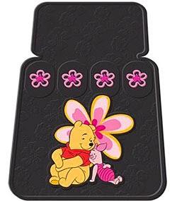 Tapete personalizado para carro do Ursinho Pooh