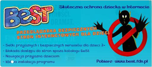 BeSt - bezpłatna przeglądarka stron internetowych  dla dzieci