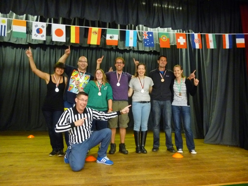 The 2014 World Finger Jousting Championship competitors