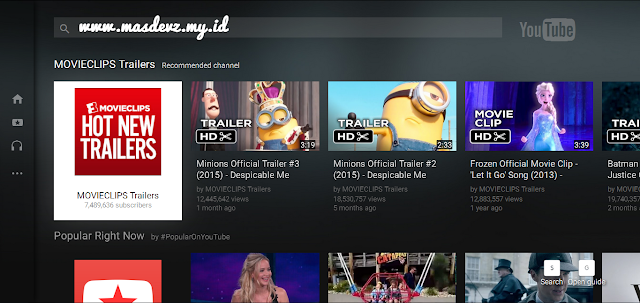 YouTube TV - Mas Devz