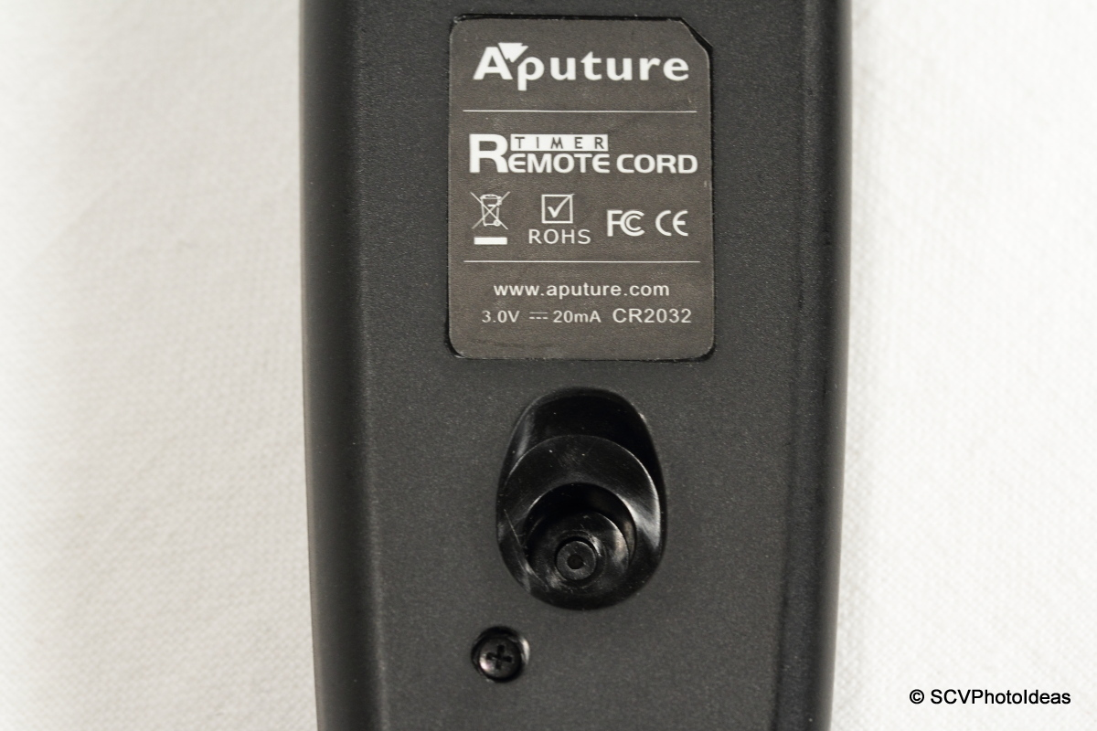 Aputure AP-TR3C back closeup