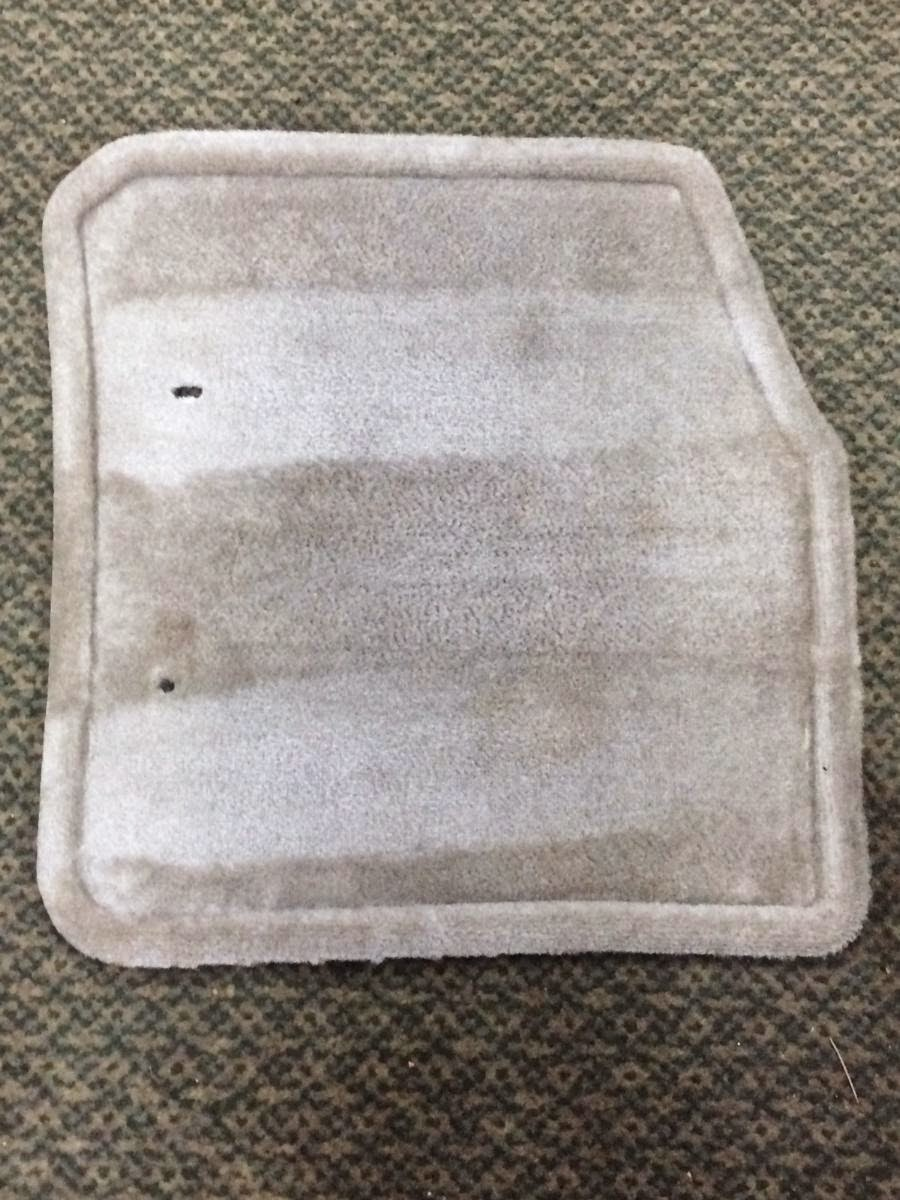 Before & After: floor mats are restored to life