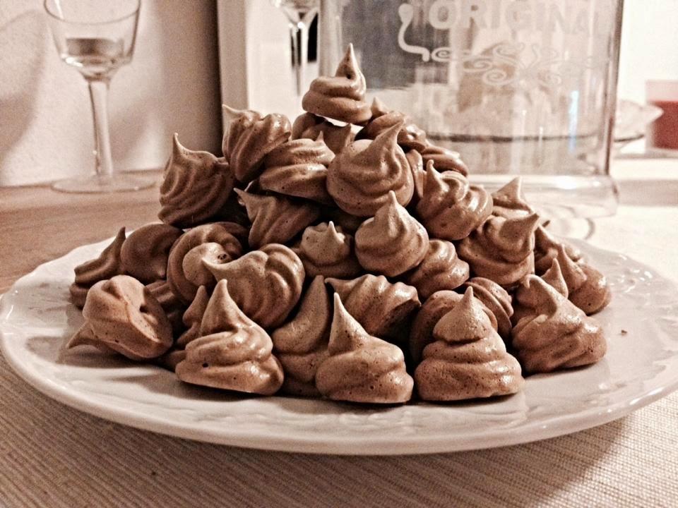 Kakaové pusinky