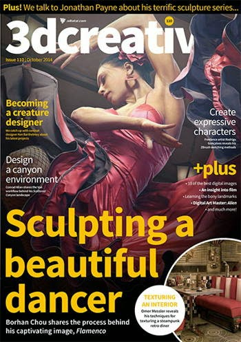 3D Creative Magazine Issue 110 October 2014