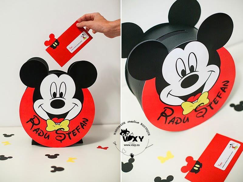 Mickey Mouse, cutie dar Mickey, cutie pentru bani Mickey, cutie pentru dar Mickey Mouse, cutie dar personalizata Mickey Mouse, cutie dar botez Mickey