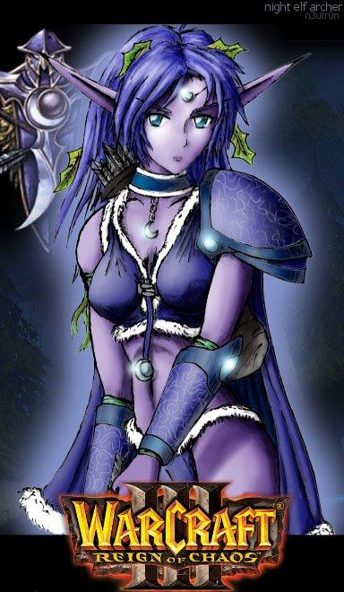 Night Elf Sentinels - Archer por n3utr0n