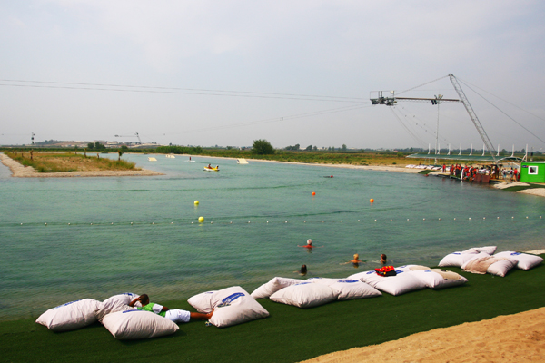 Antalya Travel: Cable Wakeboarding Hip Notics Cable Park