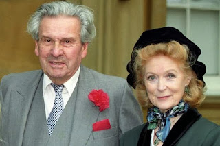 Sir Ludovic Kennedy and his wife, Moira Shearer
