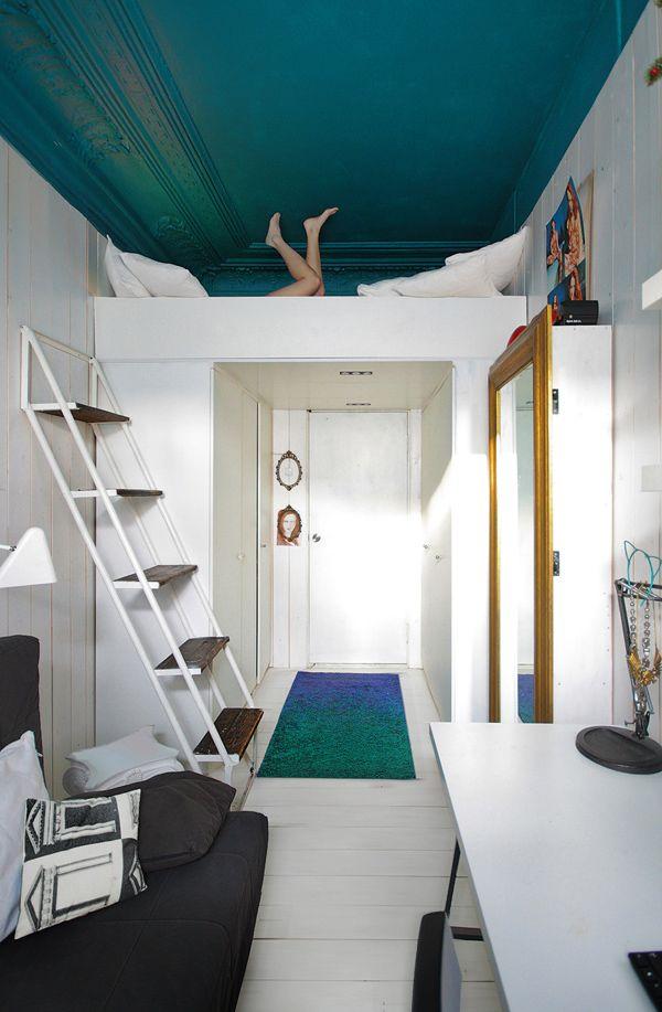 La fabrique d co mezzanine d co espace et rangement for Petit lit mezzanine