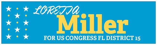 Loretta Miller For Congress Blog