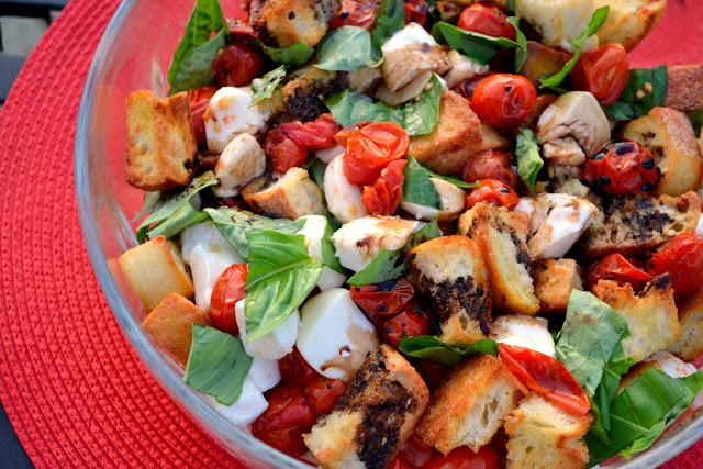 Caprese Panzanella Salad recipe