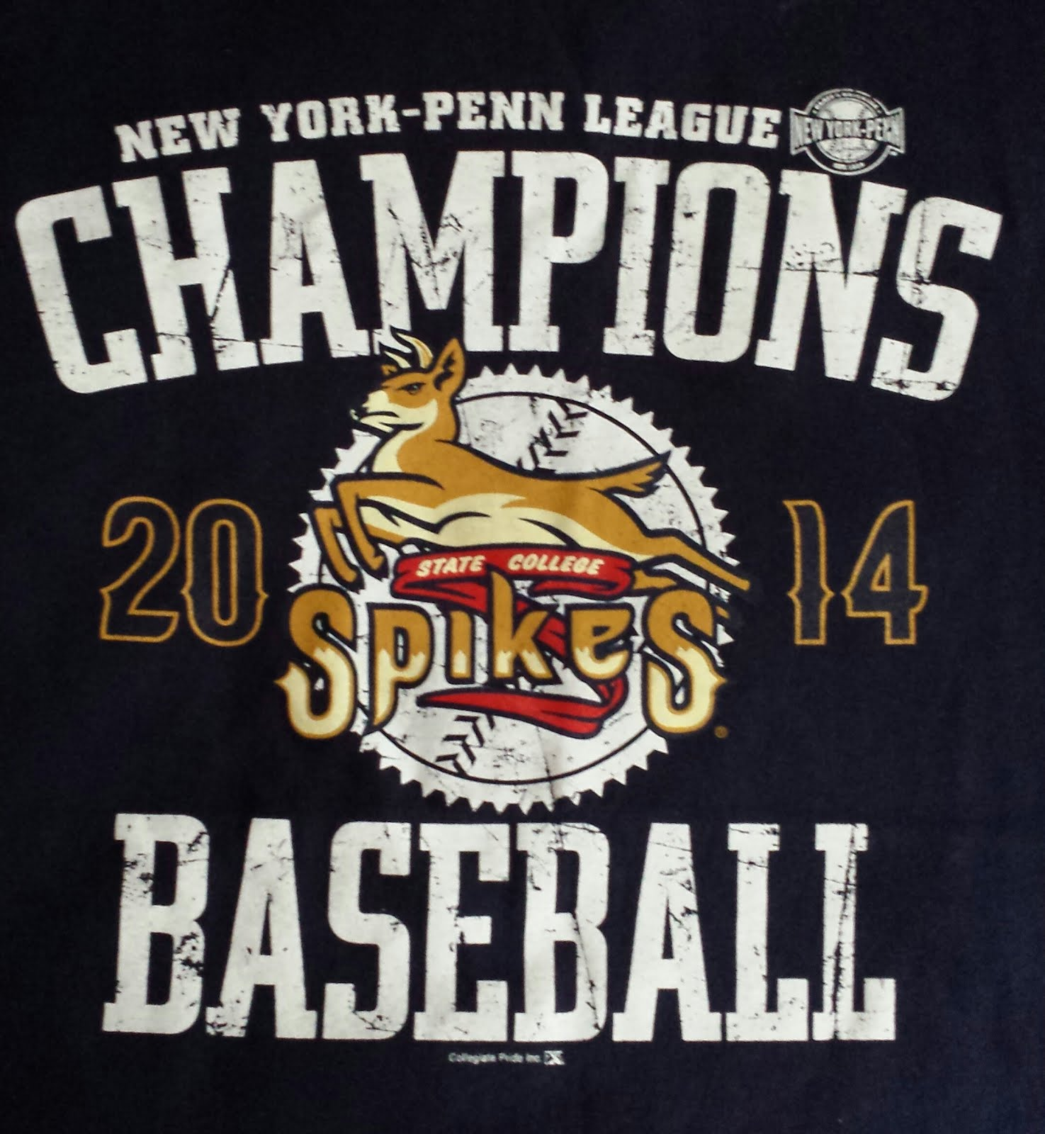 State College Spikes 2014 New York-Penn League Champions