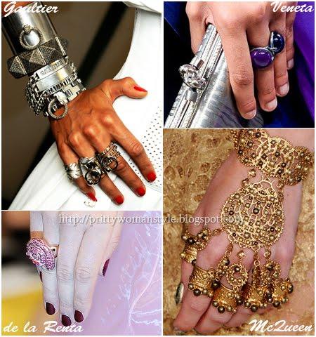 Модерни пръстени лято 2012