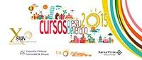 CURSOS DE VERANO 2015
