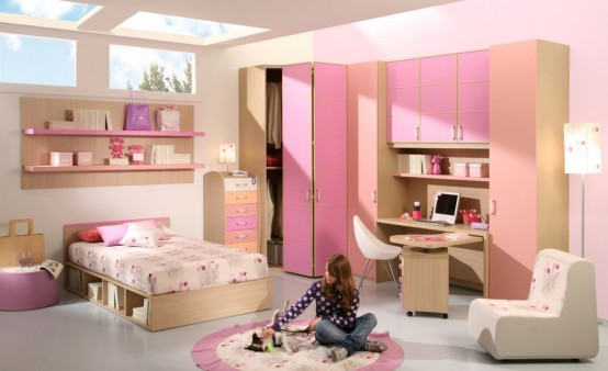 10 Cool Ideas For Pink Girls Bedrooms Seatingmodel